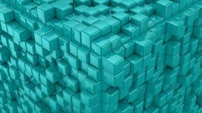 As caixas formam um cubo ilustração stock