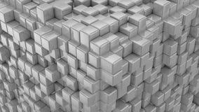 As caixas formam um cubo ilustração royalty free