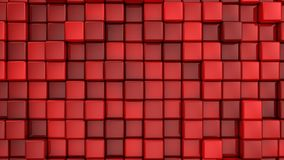 As caixas formam um cubo video estoque