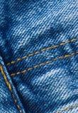 As calças de brim fecham-se acima Fotografia de Stock Royalty Free