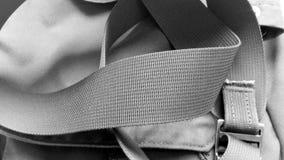 As calças de brim vazias texture o fundo da sarja de Nimes de matéria têxtil do vintage do grunge Foto de Stock