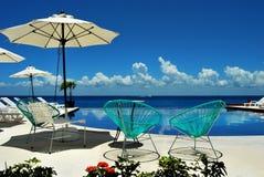 As Caraíbas relaxam em Cozumel imagem de stock