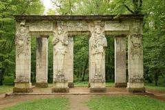 As cariátides Castelo de Chenonceau Chenonceaux france Imagem de Stock Royalty Free