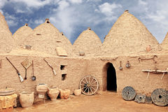 As casas de Harran Imagem de Stock Royalty Free