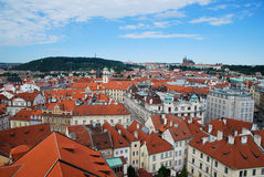 As casas de Praga Imagens de Stock Royalty Free