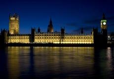 As casas do parlamento foto de stock royalty free