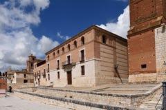 As casas do Tratado em Tordesillas, foto de stock royalty free