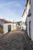 As casas no Santiago fazem Cacem fotos de stock