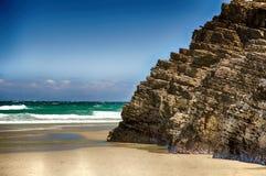 As catedrais encalham com as rochas erosioned pela ação do mar Imagem de Stock Royalty Free