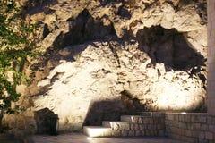 As cavernas aproximam a porta do Quran Imagens de Stock Royalty Free