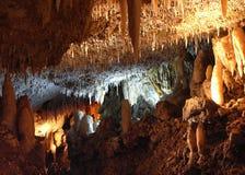 As cavernas coloridas Fotografia de Stock