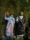 As cavernas de hercules em tanger Marrocos fotos de stock royalty free