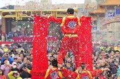As celebrações do ano novo Fotos de Stock