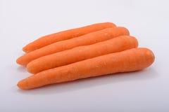 As cenouras orgânicas para a saúde Fotos de Stock Royalty Free