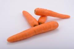 As cenouras orgânicas para a saúde Foto de Stock Royalty Free