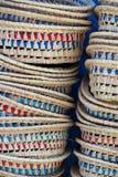 As cestas chefchaouen dentro Fotografia de Stock