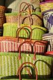 As cestas pequenas em mais maior, Foto de Stock Royalty Free