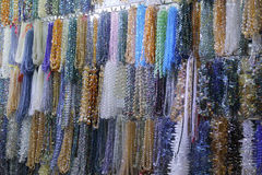 As colares da gema vendem por atacado imagens de stock