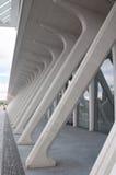 As colunas em Luge estação de caminhos-de-ferro Imagem de Stock