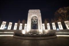 As colunas pacíficas no monumento de WWII Fotografia de Stock