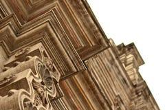 As colunas veem de um ângulo Fotos de Stock Royalty Free