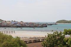 As comunidades litorais da pesca em Tailândia Foto de Stock