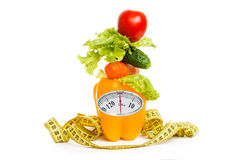 As the concept of healthy food diet Stock Images