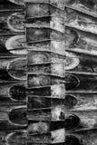As conexões dos logs, o lugar de articulação de entram o corredor, arquitetura antiga fotos de stock