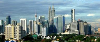 As construções as mais altas em Kuala Lumpur Imagens de Stock