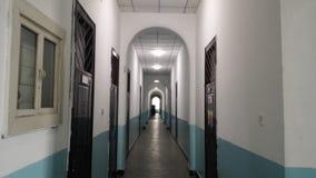 As construções deixadas pela invasão de Japão de China do nordeste nos anos 30 são agora os prédios de escritórios da universidad foto de stock