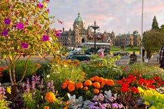 As construções Victoria do parlamento Imagens de Stock