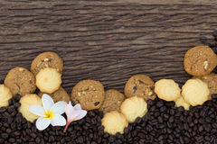 As cookies são partes Imagem de Stock Royalty Free
