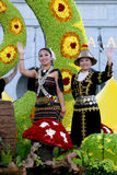 As cores de Fest da flora da harmonia visitam Malaysia 2007 Foto de Stock