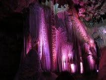 As cortinas do lit-acima em Meramec cavam, Stanton, Missouri fotografia de stock royalty free
