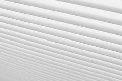As cortinas fecham-se acima Fundo das cortinas Cortinas do branco listras imagem de stock