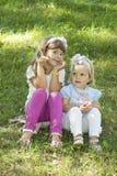 As crianças advertem Imagem de Stock Royalty Free