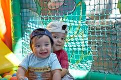 As crianças estão tendo o divertimento fotografia de stock royalty free