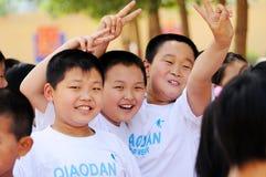 As crianças felizes Imagens de Stock Royalty Free