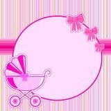 As crianças moldam para uma menina no nascimento ilustração stock