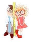 As crianças querem crescer acima Imagens de Stock Royalty Free