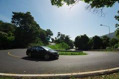 As curvas da estrada Foto de Stock