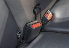 As curvaturas de cinto de segurança foto de stock