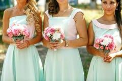 As damas de honra encantadores foto de stock royalty free