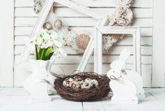 As decorações da Páscoa Imagens de Stock Royalty Free