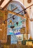As decorações do mausoléu de Mevlana Imagens de Stock Royalty Free