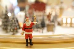 As decorações do Natal de Santa Claus Imagens de Stock Royalty Free