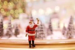 As decorações do Natal de Santa Claus Imagem de Stock Royalty Free
