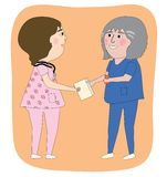 As enfermeiras Fotos de Stock Royalty Free