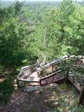 As 400 escadas Fotografia de Stock Royalty Free