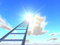 As escadas ao céu 5 Imagem de Stock